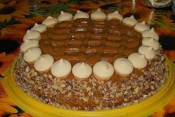 Торт по быстрому своими руками